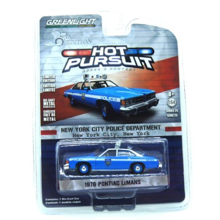 Pontiac Lemans 1976 Hot Pursuit 25th Edition 1/64 Greenlight