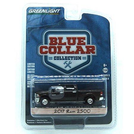 Ram 2500 2017 Blue Collar 1/64 Greenlight