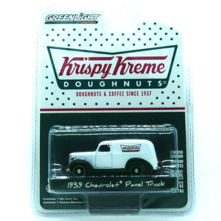 Chevrolet Panel Truck 1939 Kryspy Kreme 1/64 Greenlight