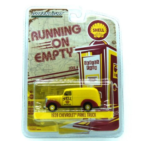 Chevrolet Panel Truck 1939 Running on Empty Shell 1/64 Greenlight