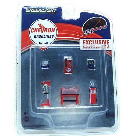 Oficina Mecânica Chevron 1/64 Greenlight