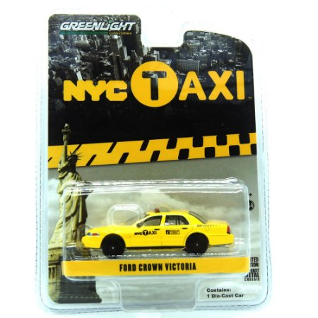 Ford Crown Victoria NYC Taxi 1/64 Greenlight