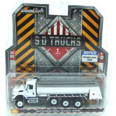 Caminhão Tanque International WorkStar 2017 SD Trucks 1/64 Greenlight