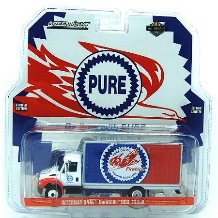 Caminhão Baú International DuraStar Pure HD Trucks 1/64 Greenlight