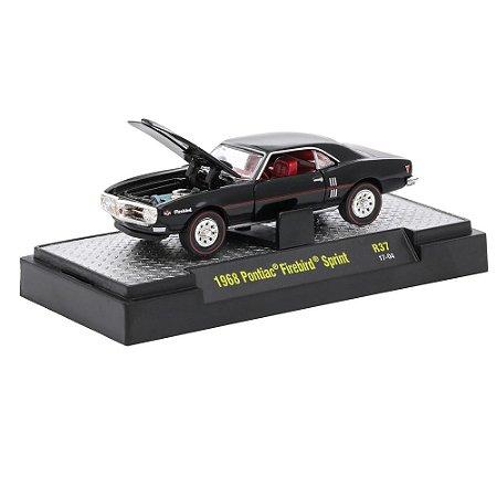 Pontiac Firebird Sprint 1968 Detroit-Muscle R37 1/64 M2 Machines
