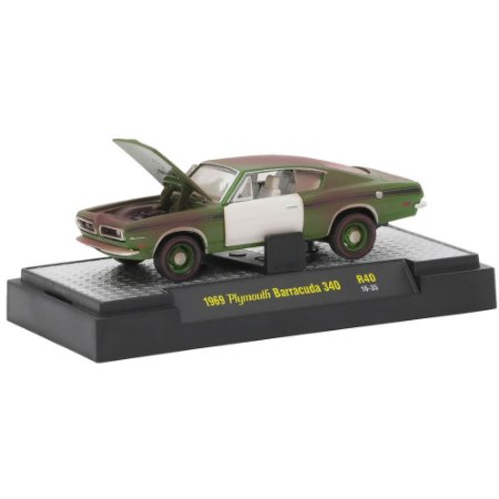 Plymouth Barracuda 340 1969 Auto-Projects R40 1/64 M2 Machines
