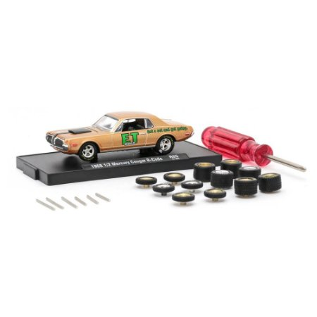 1/2 Mercury Cougar R-Code 1968 ET Mags Auto Wheels 05 1/64 M2 Machines