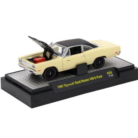 Plymouth Road Runner 440 6-Pack 1969 Detroit-Muscle R38 1/64 M2 Machines