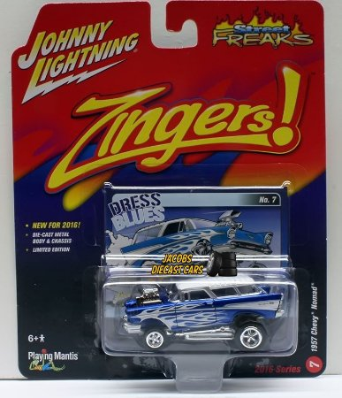 Chevy nomad 1957 Zingers! 1/64 Johnny Lightning