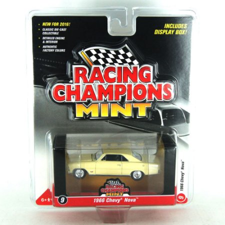 Chevy Nova 1966 Racing Champions Mint 1/64 Johnny Lightning