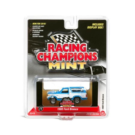 Ford Bronco 1980 Racing Champions Mint 1/64 Johnny Lightning