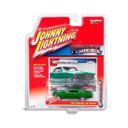 Chevy Nova SS 1967 Muscle Cars USA B 1/64 Johnny Lightning