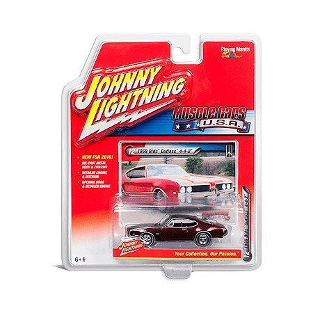 Olds Cutlass 4-4-2 1969 Muscle Cars USA B 1/64 Johnny Lightning