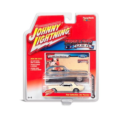 Ford Mustang 1965 Muscle Cars USA B 1/64 Johnny Lightning