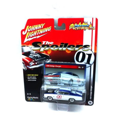 Dodge Charger 1966 The Spoilers 01 A 1/64 Johnny Lightning
