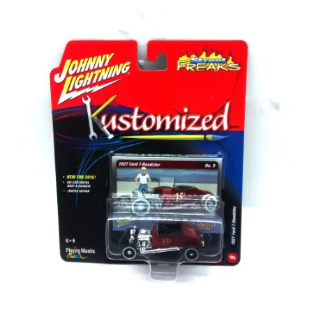Ford T-Roadster 1927 Kustomized A 1/64 Johnny Lightning