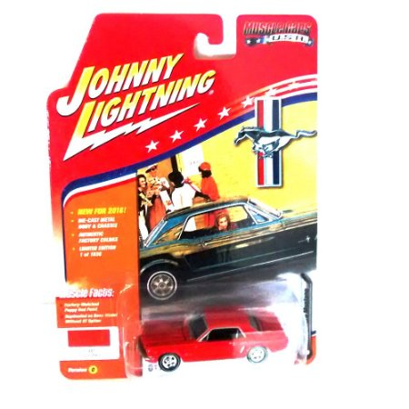 Ford Mustang 1965 Muscle Cars USA D 1/64 Johnny Lightning