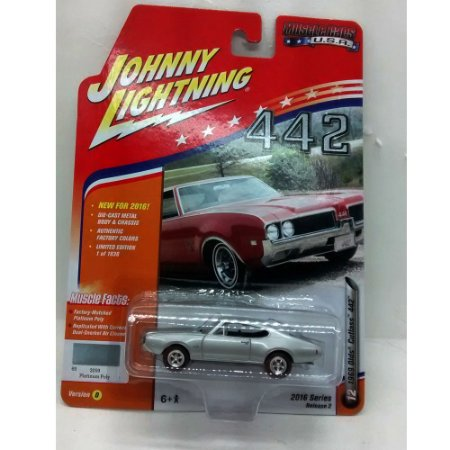 Olds Cutlass 442 1969 Muscle Cars USA D 1/64 Johnny Lightning