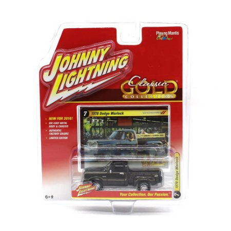 Dodge Warlock 1978 Classic Gold Collection A 1/64 Johnny Lightning