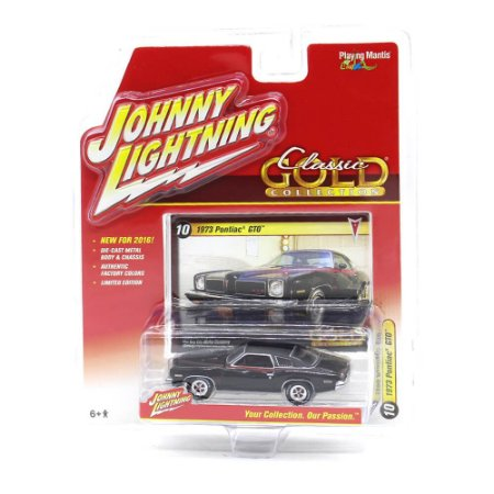 Pontiac GTO 1973 Classic Gold Collection A 1/64 Johnny Lightning