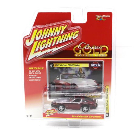 Datsun 208ZX Turbo 1981 Classic Gold Collection A 1/64 Johnny Lightning