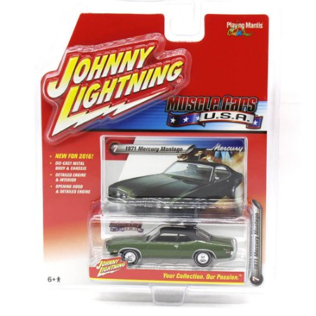 Mercury Montenego 1971 Muscle Cars USA A 1/64 Johnny Lightning
