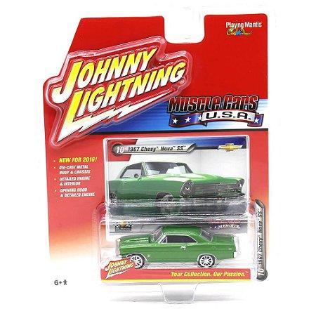 Chevy Nova SS 1967 Muscle Cars USA A 1/64 Johnny Lightning