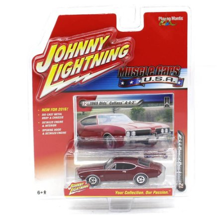 Olds Cutlass 4-4-2 1969 Muscle Cars USA A 1/64 Johnny Lightning