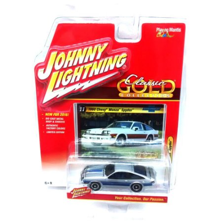 Chevy Monza Spyder Classsic Gold Collection B 1/64 Johnny Lightning
