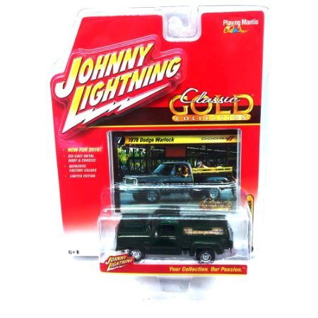 Dodge Warlock 1978 Classic Gold Collection B 1/64 Johnny Lightning