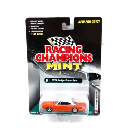 Dodge Super Bee 1970 B 1/64 Racing Champions Mint