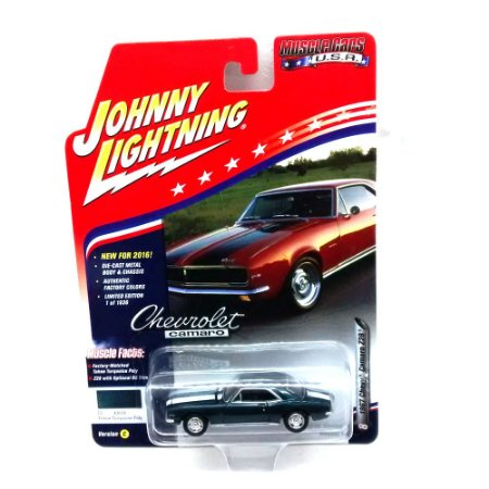 Chevy Camaro Z28 1967 Muscle Cars USA C 1/64Johnny Lightning