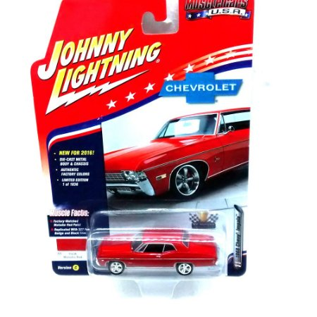 Chevy Impala 1968 Muscle Cars USA C 1/64 Johnny Lightning