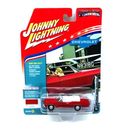 Chevy Impala Convertible 1968 Muscle Cars USA A 1/64 Johnny Lightning