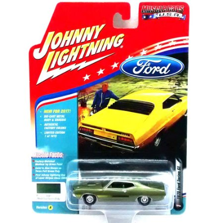 Ford Torino GT 1970 Muscle Cars USA A 1/64 Johnny Lightning