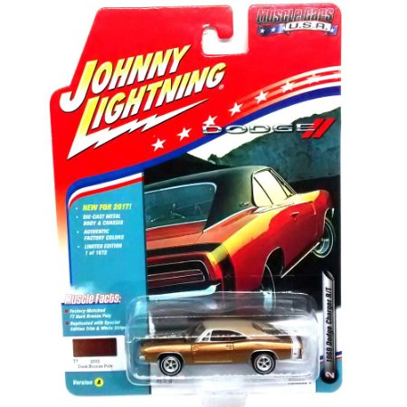 Dodge Charger R/T 1969 Muscle Cars USA A 1/64 Johnny Lightning