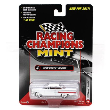 Chevrolet Impala 1960 1/64 Racing Champions Mint 2017 Series Release 1 Versão A