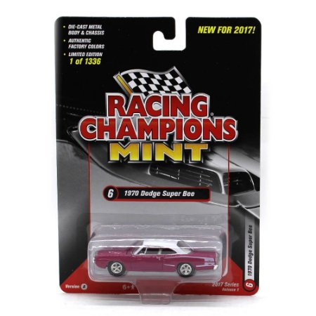 Dodge Super Bee 1970 1/64 Racing Champions Mint 2017 Series Release 1 Versão A