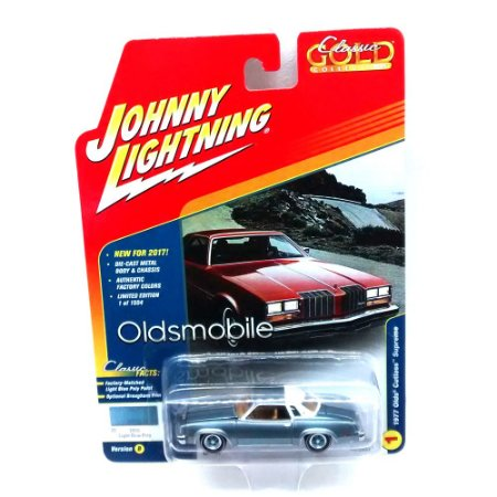 Olds Cutlass Supreme 1977 Classic Gold Collection B 1/64 Johnny Lightning