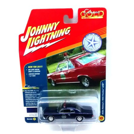 Blake Rainey's Pontiac GTO 1965 Classic Gold Collection B Johnny Lightning