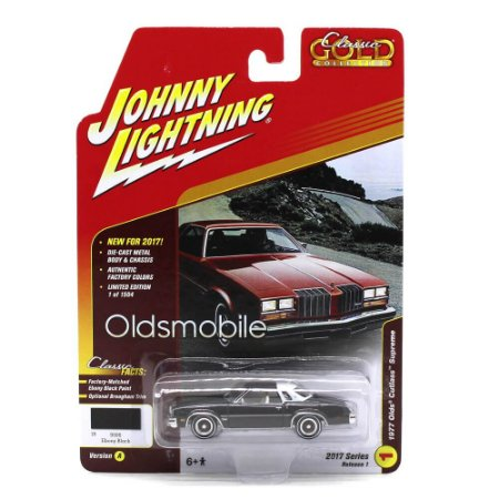 Olds CutLess Supreme 1977Classic Gold Collection A 1/64 Johnny Lightning