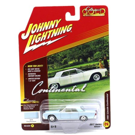 Lincoln Continental 1961 Classic Gold Collection A 1/64 Johnny Ligtning