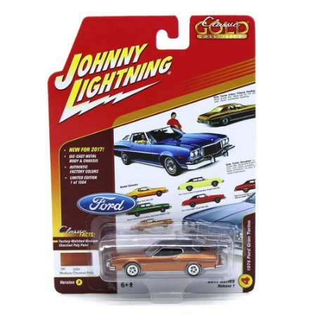 Ford Gran Torino 1974 Classic Gold Collection A 1/64 Johnny Lightning