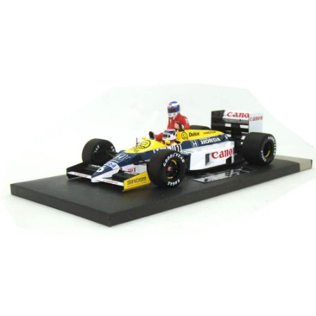 Williams FW11 Nelson Piquet Carona Rosberg GP Alemanha 1986 1/18 Minichamps