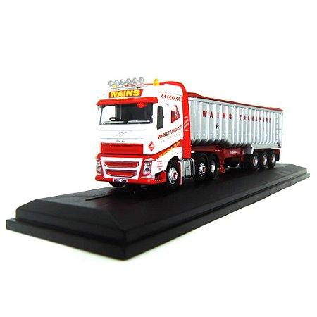 Caminhão Volvo Fh4 (G) Tipper Wains Transport 1/76 Oxford