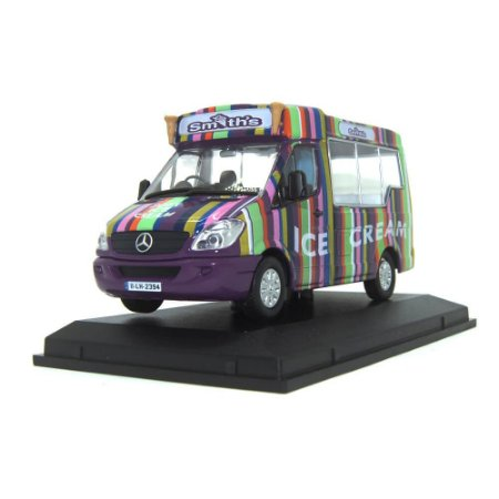 Mercedes-Benz Sprinter Whitby Ice Cream 1/43 Oxford