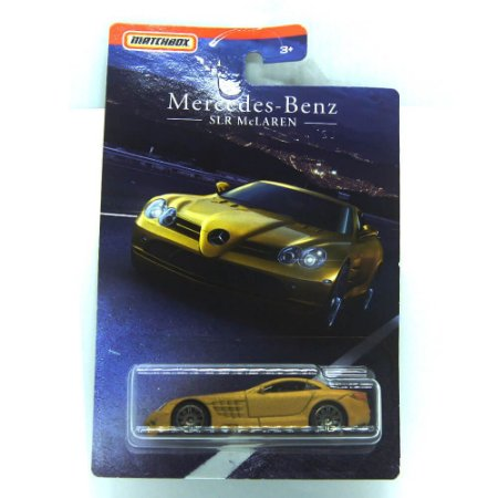 Mercedes-Benz SLR McLaren 1/64 Matchbox Exclusivo Walmart