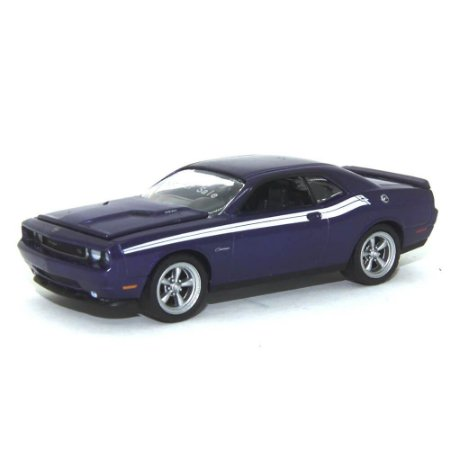 Protótipo Dodge Challenger 2010 Roxo 1/64 Greenlight