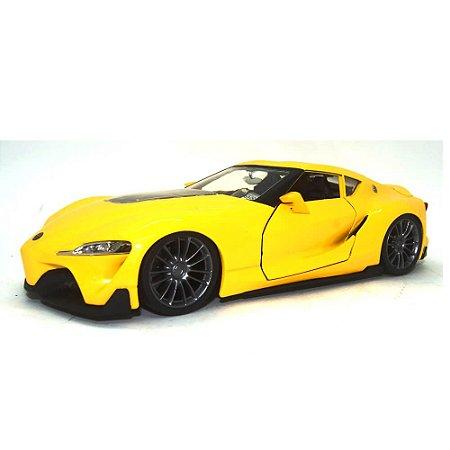 Toyota FT-1 Concept Amarelo JDM Tuners 1/24 Jada Toys