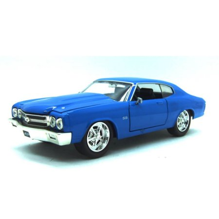 Chevrolet Chevelle SS 1970 Azul Big Time Muscle 1/24 Jada Toys